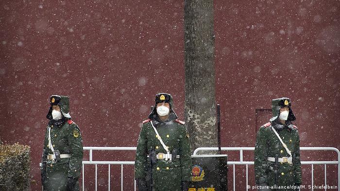 China öffentliches Leben und das Coronavirus (picture-alliance/dpa/M. Schiefelbein)
