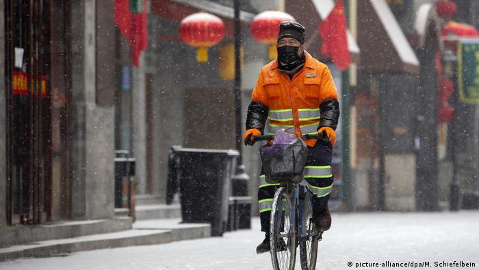 China öffentliches Leben und das Coronavirus