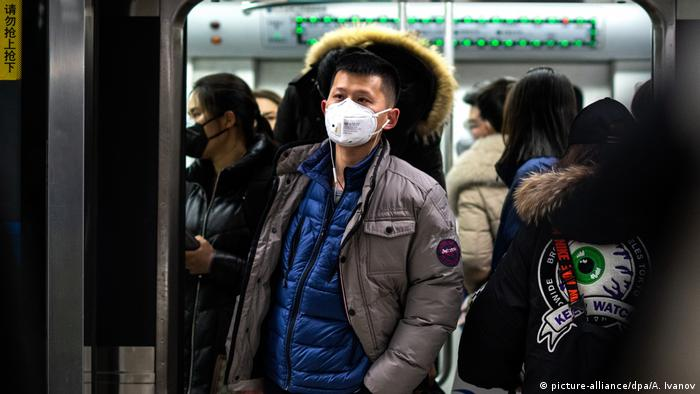 China öffentliche Leben und das Coronavirus (picture-alliance/dpa/A. Ivanov)