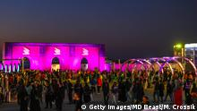 RIYADH, SAUDI ARABIA - DECEMBER 19: In this handout image provided by MD Beast, MDL Beast Festival - the Saudi Soundstorm has arrived, wowing over 130,000 fans on its first day on December 19, 2019 in Riyadh, Saudi Arabia. Mdl Beast is the first festival of its kind within Saudi Arabia and showcases international artists and local talents in music, art and culture. (Photo by Matt Crossik/MD Beast via Getty Images )