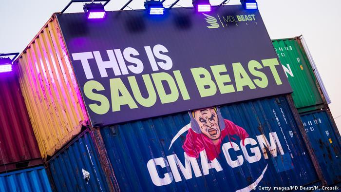 Saudi-Arabien Riad MDL Beast Festival
