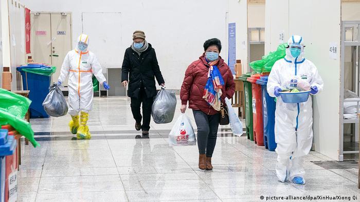 Rumah sakit darurat di Wuhan, Cina