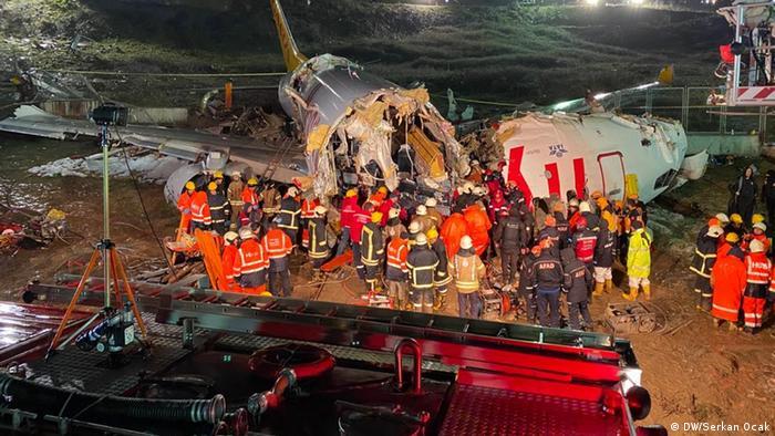 Türkei Istanbul Flugzeugunglück