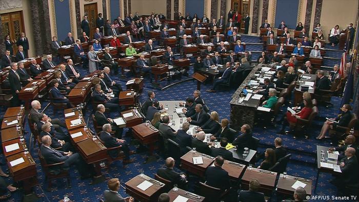 USA Amtsenthebungsverfahren   Abstimmung