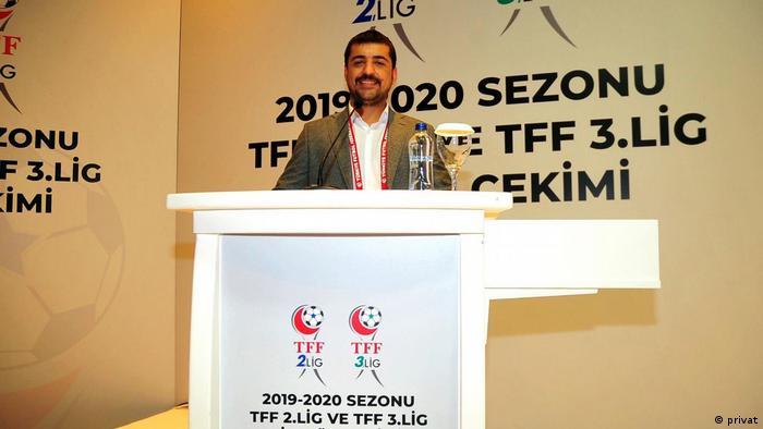 Maruf Sefinç iki yıldır Cizrespor'un başkanlığını yapıyor.