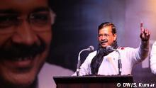 Indien Wahlkampagne Arvind Kejriwal