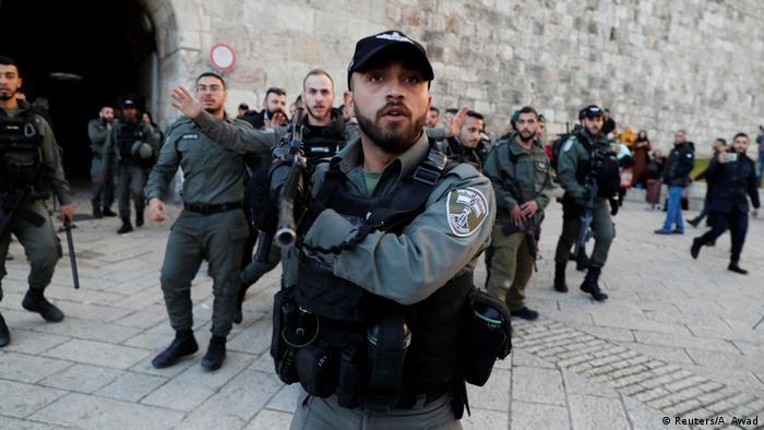 Israelische Sicherheitskräfte in Jerusalem