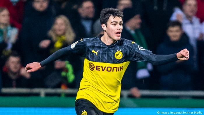 Giovanni Reyna, jogador do Borussia Dortmund