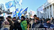Ukraine l Proteste gegen Bodenreform in Kiew