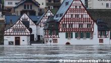 Deutschland Hochwasser an der Mosel (picture-alliance/dpa/T. Frey)
