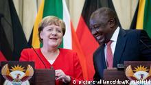 Besuch von Bundeskanzlerin Merkel in Südafrika