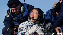 Kasachstan Astronauten von der ISS zur Erde heimgekehrt