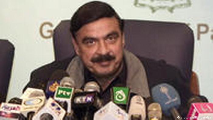 Pakistan Sheikh Rasheed Ahmed (picture-alliance/ dpa)