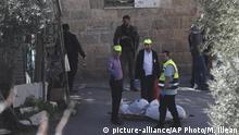 Israel Palästina Konflikt Jerusalem