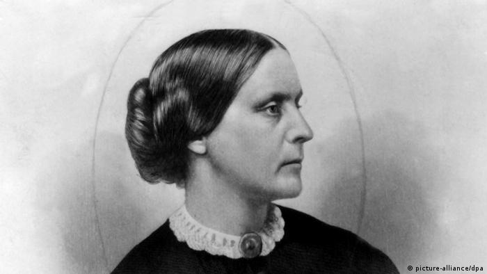 US-Frauenrechtlerin Susan B. Anthony 1820