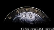Rückseite einer deutschen Ein-Euro-Münze