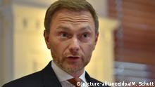 Deutschland PK Christian Lindner Ministerpräsidentenwahl Thüringen