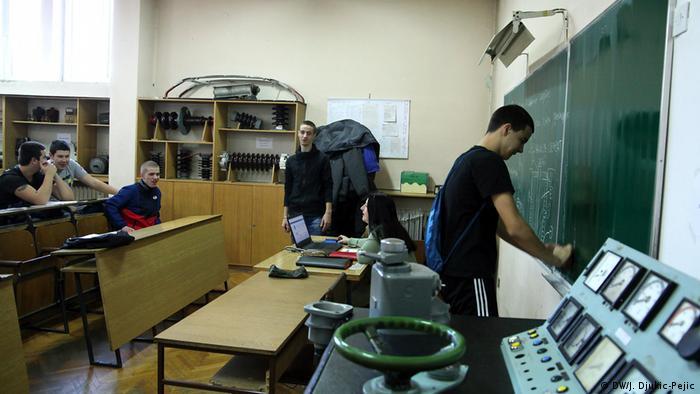 Železnička škola u Beogradu