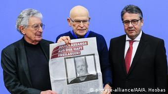 Freilassung von Wikileaks-Gründer Julian Assange gefordert