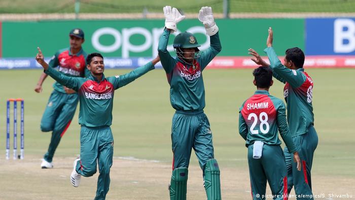 2020 ICC U19 Cricket World Cup | Halbfinale | Neuseeland | Bangladesch