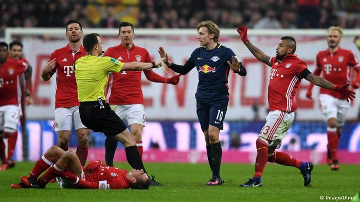 Bayern Munich Vs Rb Leipzig A Brief History All Media Content Dw 07 02 2020