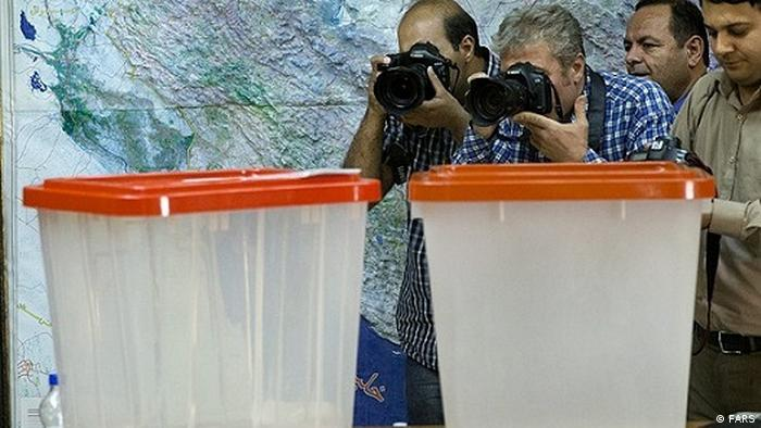 Iran Wahlen l Wahlurnen (FARS)