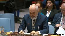 Videostill UN Web TV Edi Rama