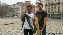 Portugal Lissabon   Mister Black Portugal Manuel Viga und Dori Nigro