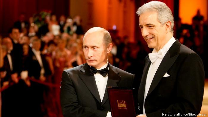 Владимир Путин и Станислав Тиллих