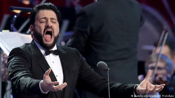 Азербайджанский оперный певец Юсиф Эйвазов
