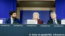 Belgien Brüssel | Pressekonferenz: Rechtspopulistische Fraktion gegründet