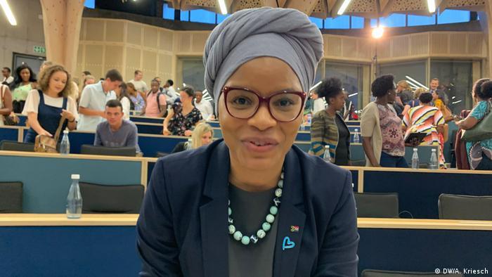 Mishumo Madima in the University of Pretoria