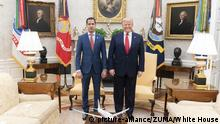 USA Washington | Donald Trump und Juan Guaido