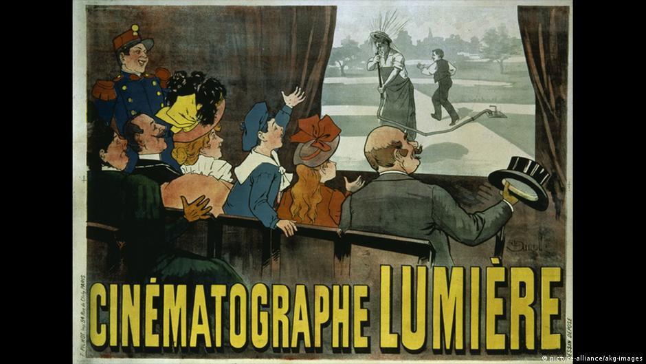 Bildergalerie Jubiläum 125 Jahre Kino | Cinematographe Lumiere, Plakat 1896