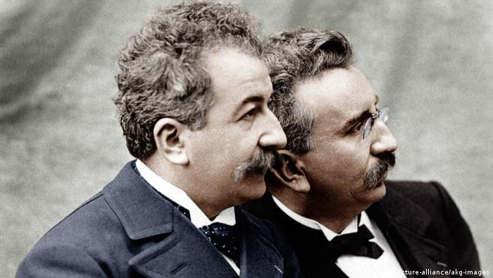 The Lumiere brothers (picture-alliance/akg-images)