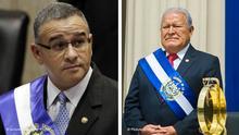 Kombobild Mauricio Funes und Sanchez Ceren