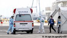 Japan Yokohama Kreuzfahrtschiff Princess Diamond mit Corona-Kranken