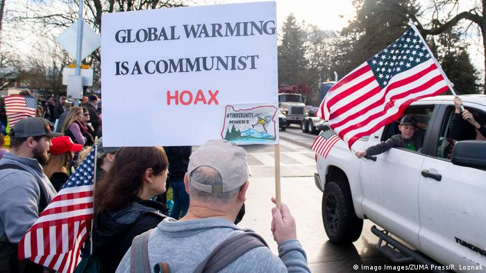 USA Antiklima Demo in Salem, Oregon