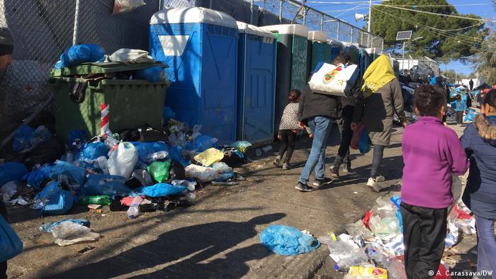 Stanje u kampu Moria na Lezbosu je katastrofalno
