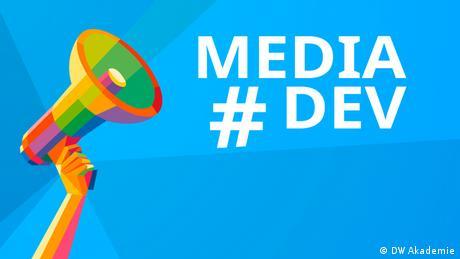 #mediadev Key Visual (DW Akademie)