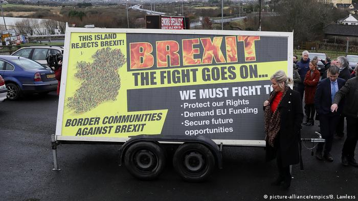 An Irish border communities against Brexit poster