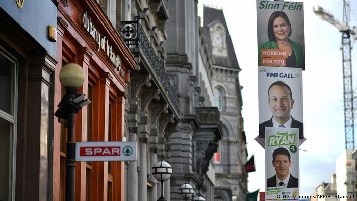 Partidele aflate în cursa de la Dublin