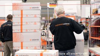 Немецкая фирма Zalando - один из лидеров онлайн-торговли одеждой и обувью