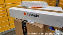 Post von Zalando und Amazon (picture-alliance/dpa/W. Steinberg)