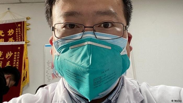 China Wuhan Augenarzt Li Wenliang gestorben