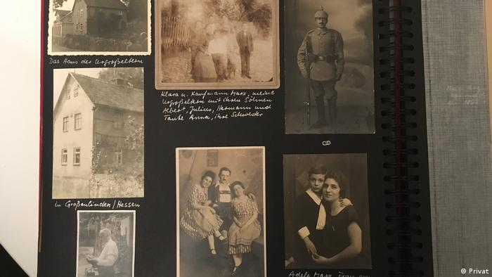 Photos of the Marx family (Privat)