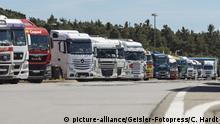 Deutschland Justiz l Schadenersatz-Klage gegen das europäische Lkw-Kartell ist geplatzt