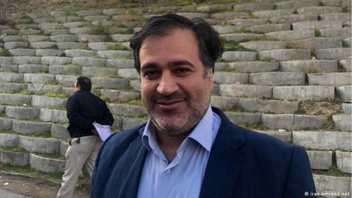 Iran Aktivist Mehdi Mahmoodian verhaftet