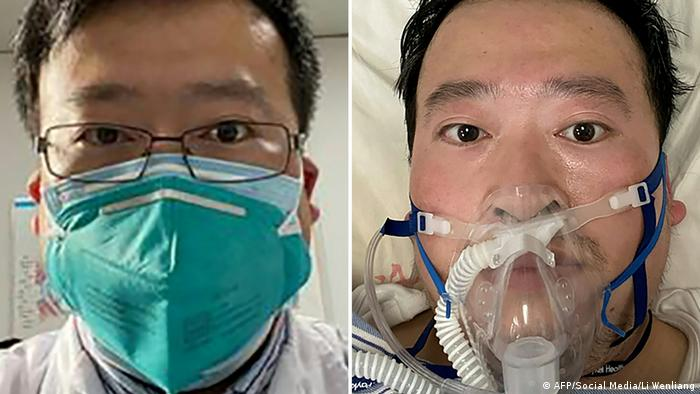 China Wuhan Augenarzt Li Wenliang gestorben (AFP/Social Media/Li Wenliang)