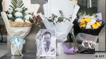 China Wuhan Augenarzt Li Wenliang gestorben (AFP)